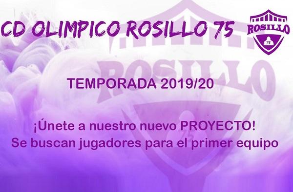 El Olímpico Rosillo 75 de Alcobendas, que compite en Segunda Regional busca jugadores para la temporada 2019-2020