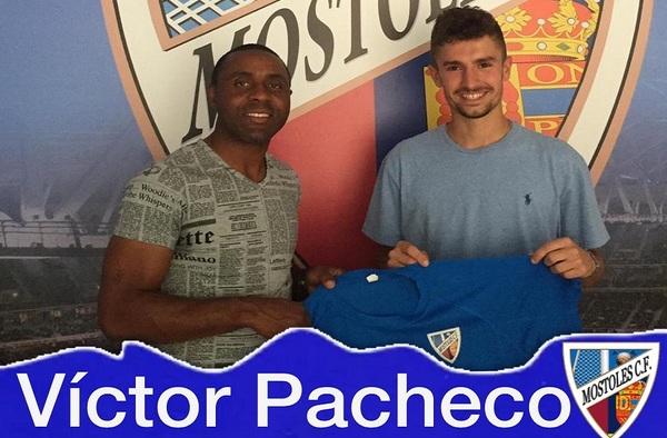 El Móstoles C.F. sigue sumando talento a su plantilla, llega Víctor Pacheco