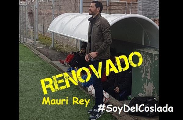 El Coslada prepara la nueva temporada 2019-2020 renovando a Mauri Rey en el banquillo