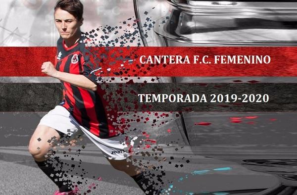 Únete al proyecto del equipo Femenino del Cantera FC - Temporada 2019-2020