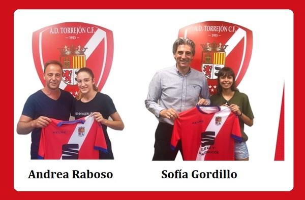 Primeros fichajes de la A.D. Torrejón C.F. Femenino para la temporada 2019/20