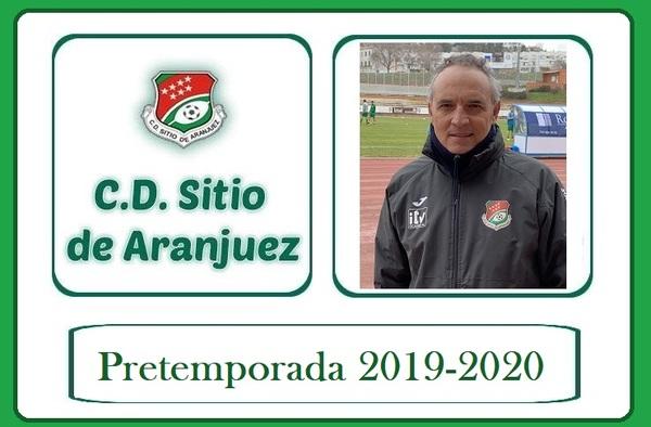 El CD. Sitio de Aranjuez cierra sus partidos de pretemporada 2019/20