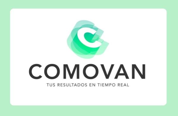 El futuro pasa por la aplicación Comovan, resultados en tiempo real