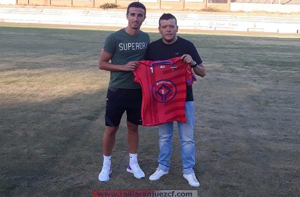 Mario González, nuevo ariete del Real Aranjuez para la temporada 2019/20