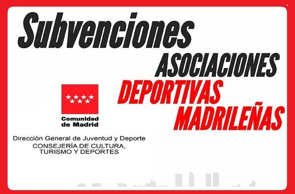 Listado provisional de entidades deportivas con derecho a ayudas por parte de la Comunidad de Madrid