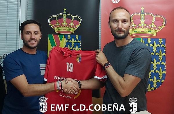 Christian Seubert, entre los refuerzos que recalan en el Cobeña para la temporada 2019/20