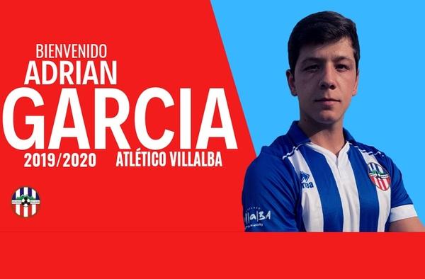 El defensa Adrián García se incorpora al Atlético Villalba siendo el quinto fichaje de la Temporada 2019/2020