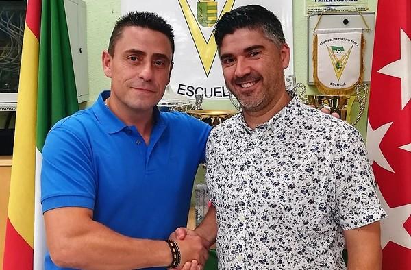 Jordi Fernández, nuevo Coordinador de Fútbol 7 del C.P. Parla Escuela