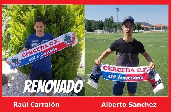 El Cerceda C.F. inició la pretemporada el pasado 13 de agosto con Raúl Carralón en el banquillo