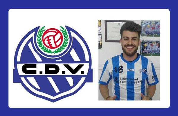 Dani Martín, futbolista ofensivo confirmado como nuevo jugador del C.D. Vicálvaro
