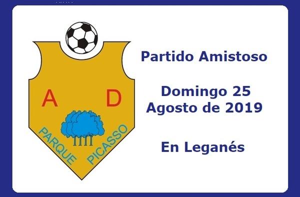 La A.D. Parque Picasso busca partido amistoso para el domingo 25 de agosto de 2019