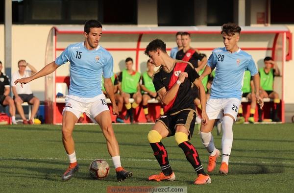 Crónicas amistoso: Rayo Vallecano Juvenil 1 - 3 del Real Aranjuez CF - Pretemporada 2019-2020