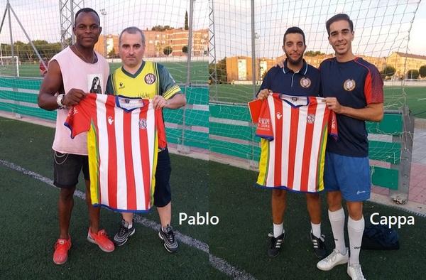 El Atlético Club de Socios sigue reforzándose con los fichajes de Pablo y Cappa - Temporada 2019/20