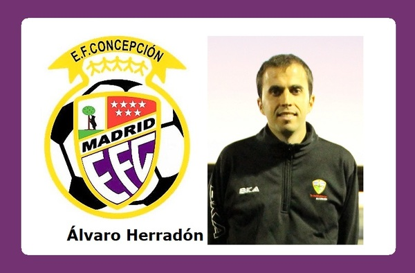 Álvaro Herradón al frente del proyecto 2019-2020 de la E.F. Concepción