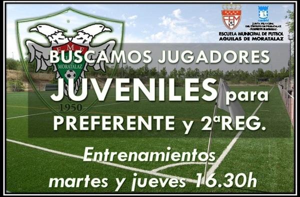 La EMF Águilas de Moratalaz busca jugadores Juveniles - Temporada 2019/20