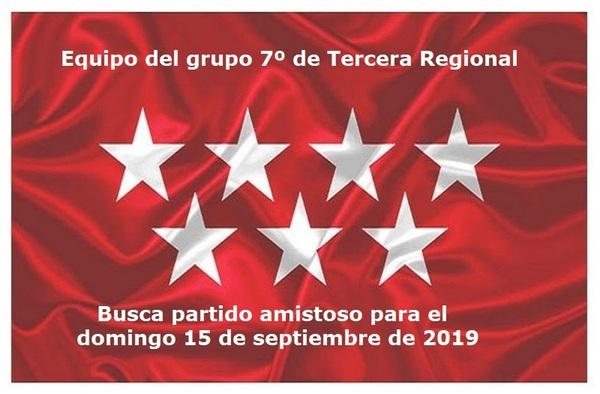 Equipo de 3ª Regional busca amistoso para el 15 de septiembre de 2019