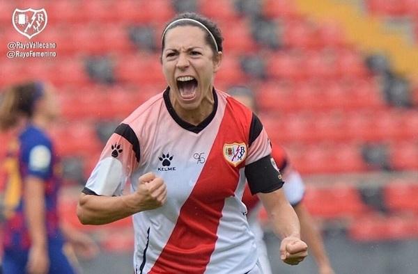 El Rayo Vallecano femenino jugó su partido de Primera Iberdrola en el Estadio de Vallecas