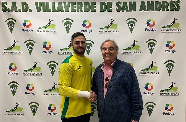 """El Villaverde San Andrés refuerza la portería con Daniel Figueroa """"Figueroa"""""""