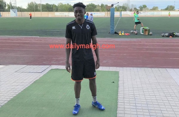Abdul Sani, joven talentoso para la delantera del C.D. San Fernando