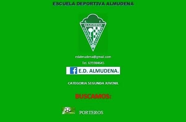 La E.D. Almudena busca jugadores para sus categorías inferiores - Temporada 2019/20