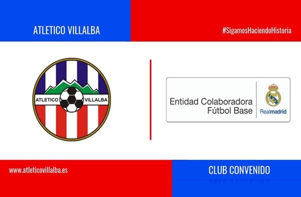 El Club Atlético Villalba es Club Convenido con el Real Madrid CF