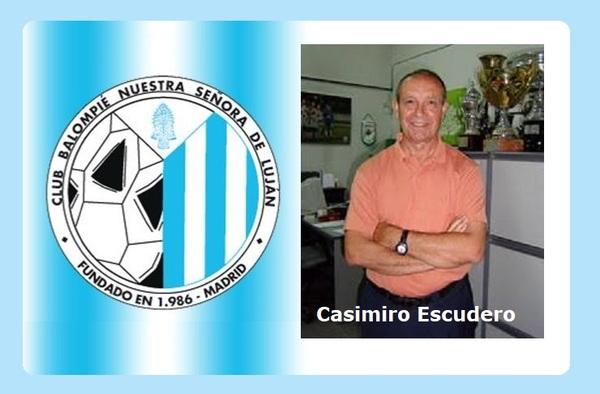 Casimiro Escudero, nuevo entrenador del C.B. Nuestra Señora de Luján