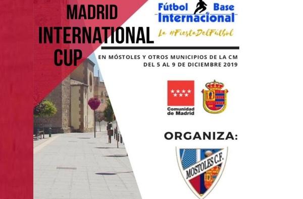 El Móstoles C.F. organiza el torneo de fútbol base Madrid International Cup