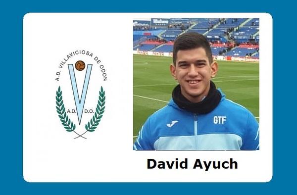 El futbolista argentino David Ayuch debutaba con el Villaviciosa de Odón en la jornada 10ª