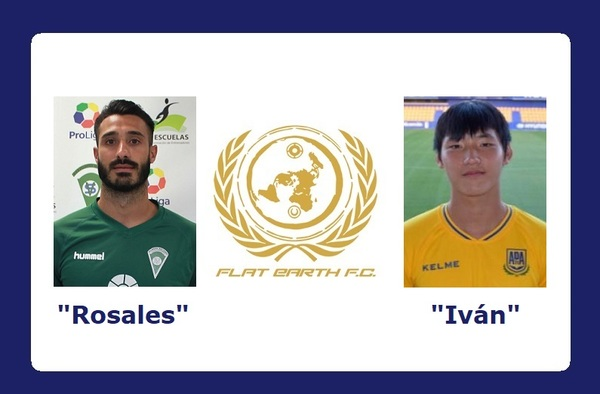 "Manu Rosales e ""Iván"" Zewei, nuevos jugadores del Flat Earth FC"