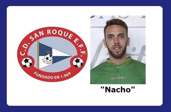 Nacho Pérez regresaba al C.D. San Roque EFF para debutar el domingo 1 de diciembre de 2019