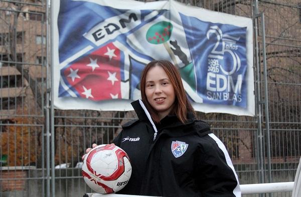 Entrevista a Gloria Redondo, psicóloga deportiva de la EDM San Blas  (Temporada 2019/20)