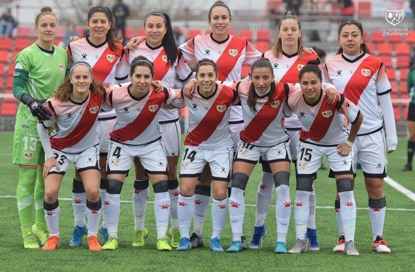 """El Rayo Vallecano Femenino """"A"""" se encuentra en 6ª posición luchando con las """"grandes"""" de la categoría"""