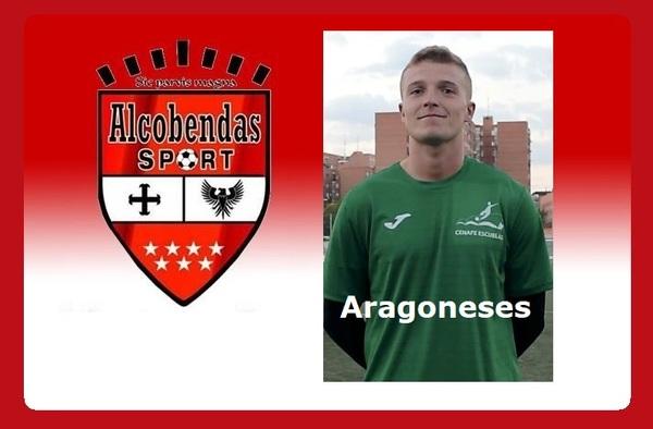 El portero Alberto Aragoneses se incorpora al Alcobendas Sport tras su aventura islandesa