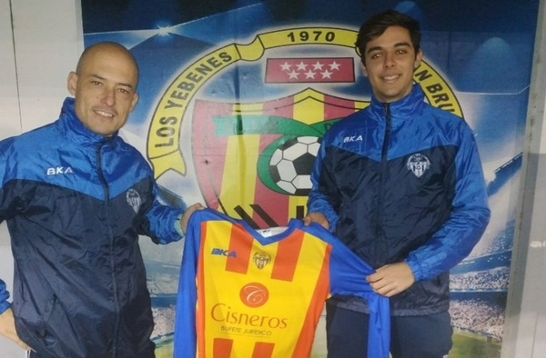 """Jero Martos, nuevo entrenador del Juvenil """"B"""" del C.D. Los Yébenes San Bruno"""