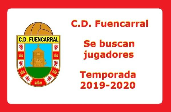 El C.D. Fuencarral busca jugadores para completar la plantilla en esta temporada 2019/20