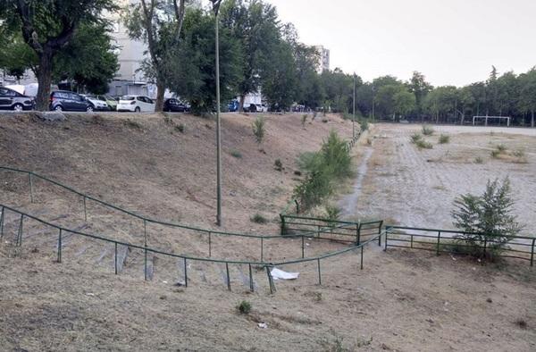 El CF Rayo 70 y la Coordinadora Vecinal Ciudad 70 siguen en lucha por la única instalación deportiva del barrio cosladeño