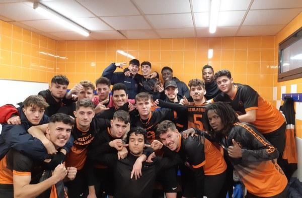 Un imbatido Atlético Fuenlabreño lidera el grupo 10ª de Tercera Regional