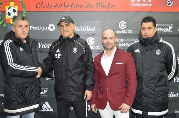 Jesús Núñez y J.J. Ojeda como segundo, nuevos entrenadores del Atlético de Pinto Juvenil División de Honor