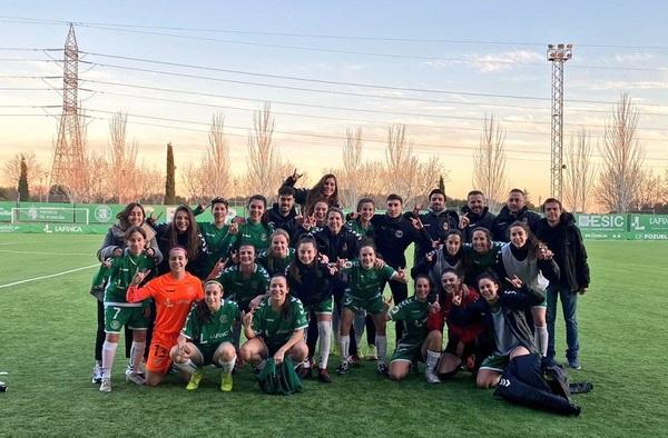 """En 2ª División Reto Iberdrola, el Pozuelo """"A"""" inicia la 2ª vuelta con victoria ante el Atlético de Madrid """"B"""""""