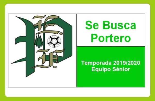 La E.F. Los Pinos de Moratalaz busca Portero para el final de la temporada 2019/20