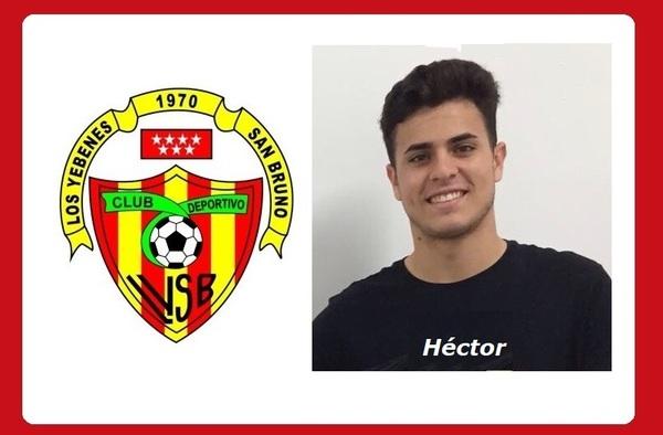 Héctor Herráiz, otra incorporación más para Los Yébenes San Bruno