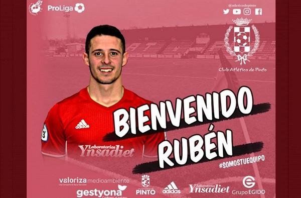 El Atlético de Pinto firma a Rubén López en enero de 2020