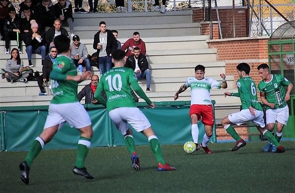 22ª Jornada - Crónicas: CD El Álamo 1 - 0 CF Trival Valderas Alcorcón  (Temporada 2019/20)
