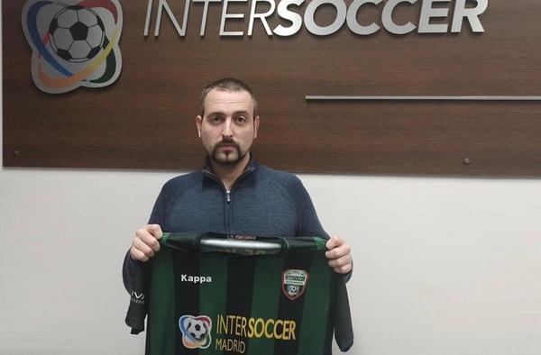 Borja Aranda se une como entrenador del equipo Juvenil al proyecto formativo competitivo de la AC Intersoccer