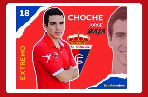 Jorge García causa baja en el Real Aranjuez CF, se marcha por motivos personales