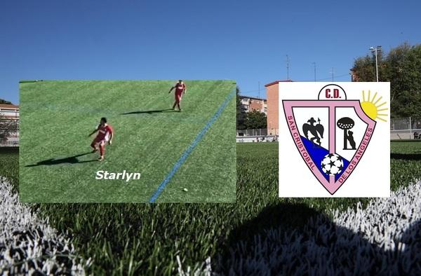 Starlyn Ramos, máximo goleador del fútbol madrileño con 42 goles
