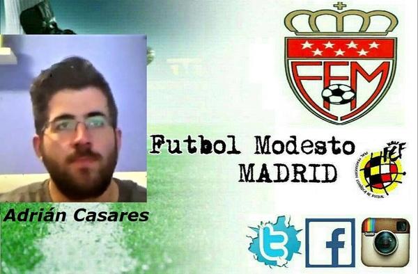 Entrevista por videollamada de Fútbol Modesto Madrid a Adrián Casares, portero del Racing CF Veracruz (Temporada 2019/20)