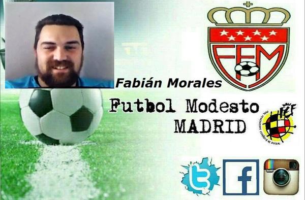 Entrevista por videollamada de Fútbol Modesto Madrid a Fabián Morales, portero y entrenador del Espartales Sur (Temporada 2019/20)