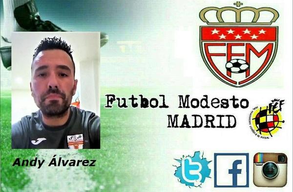 Entrevista por videollamada de Fútbol Modesto Madrid a Andy Álvarez, entrenador de Los Santos de la Humosa CF (Temporada 2019/20)