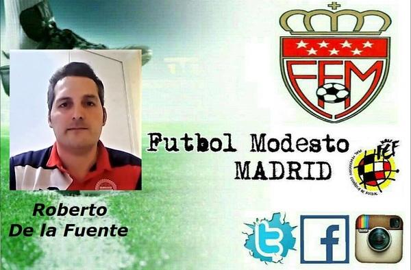 Entrevista por videollamada de Fútbol Modesto Madrid a Roberto De la Fuente, entrenador del Neumáticos Cervantes CF (Temporada 2019/20)